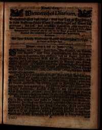 Titelseite der Ausgabe Nr. 611, 8.–11. Juni 1709