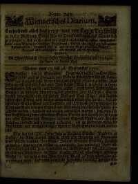 Titelseite der Ausgabe Nr. 743, 13.–16. September 1710