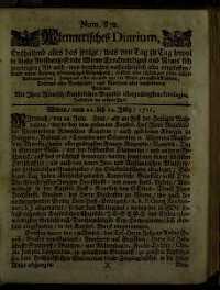 Titelseite der Ausgabe Nr. 832, 22.–24. Juli 1711