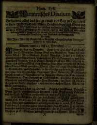Titelseite der Ausgabe Nr. 876, 23.–25. Dezember 1711