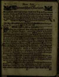 Titelseite der Ausgabe Nr. 877, 26.–29. Dezember 1711