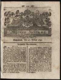 Titelseite der Ausgabe Nr. 48, 27. Juni 1795