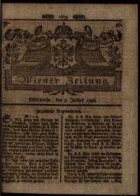 Titelseite der Ausgabe Nr. 46, 8. Juni 1796