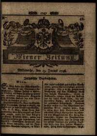 Titelseite der Ausgabe Nr. 48, 15. Juni 1796